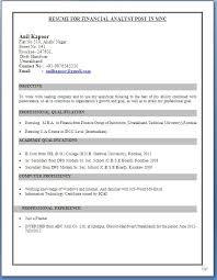 Fresher Teacher Resume Format India Facebookthesis Web Fc2 Com