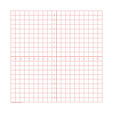 Axis Graph Graph Paper Pads Numbered Axis 100 Sheets Per Pad 3 Pads