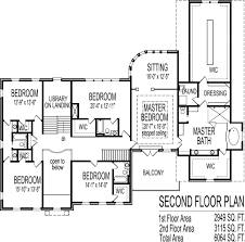 bedroom colonial house plan family fresh million dollar floor plans six and seven bath story homes houses designs home blueprint drawings car garage