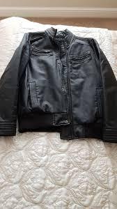 man red herring leather jacket