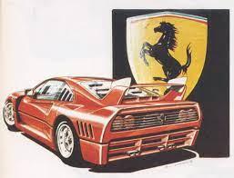 Un disegnatore e illustratore di professione, ma non un designer attivo nel settore della produzione automobilistica, se non per alcune esperienze professionali come ad esempio una consulenza in fiat.con una buona mano, si possono disegnare automobili anche per pura passione: Design History Ferrari F40 Auto Design