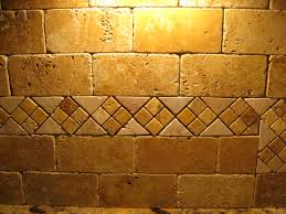 gallery of travertine tile backsplash