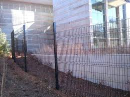 T Post Fence Gate Plus Welded Wire Fence Steel Post Fence Gate