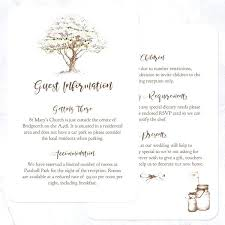 Luxury Wedding Invitation Information Card Or Additional Images