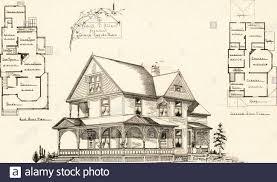 Cottage Design Plans Artistic Dwellings Giving Views Floor Plans And Estimates