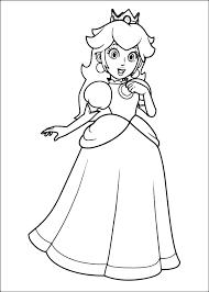 Disegno Della Principessa Daisy Di Super Mario Da Colorare