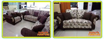 sofa 3 2 1. sofa 321 coklat motif bunga 3 2 1