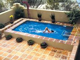 Terrace House With Swimming Pool House Swimming Pool Design Ideas
