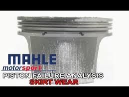 Piston Failure Analysis Skirt Wear Youtube