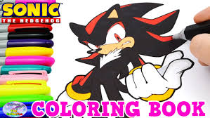 Small Picture Sonic The Hedgehog Coloring Book Shadow Episode Speed Coloring