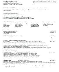 Kellogg Resume Format