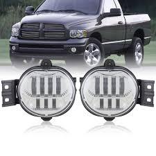 2006 Dodge Ram Led Fog Lights 1 Pair Led Fog Lights Front Lights For Dodge Ram 1500 2500 3500 2002 2003 2004 2005 2006 2007 2008 2009 Durango 2004 2006 Truck Chrome