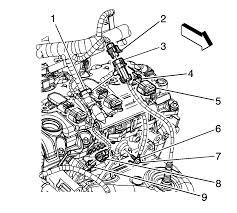 repair instructions engine coolant temperature sensor replacement ect sensor 07 966