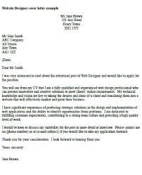 Designers Cover Letter Web Designer Cover Letter Under Fontanacountryinn Com