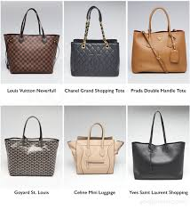List Of Best Designer Handbags The 8 Handbag Styles You Need To Start Your Collection Now