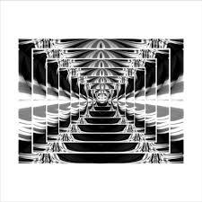 mirror 40 x 60. let\u0027s talk canvas abstract illusion mirror lukisan digital [40 x 60 40 r
