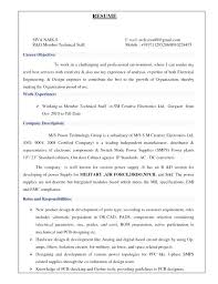 Electrical Engineering Resume Examples Gorgeous Formidable Sample Resume Pcb Design Engineer On Sample Resume Pcb