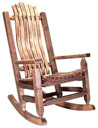 rustic rocking chairs rocking chair in stained and lacquered finish rustic rocking chairs rustic rocking chairs rustic rocking chairs