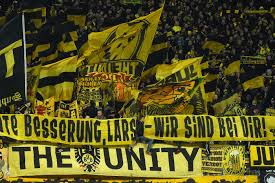 Over 22,000 black and yellow supporters. Playing In Front Of A Big Yellow Wall Fear The Wall