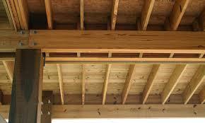 garage door header span table power beam lvl garage door header span table