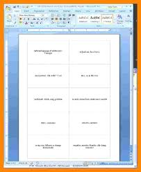Flashcards Template For Word Flash Card Template Gallery Of Blank Flashcard Word Sight For