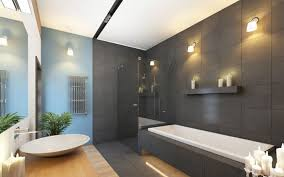 walk in shower lighting. this minimal bathroom utilizes its space well the long narrow tub rests against walk in shower lighting c