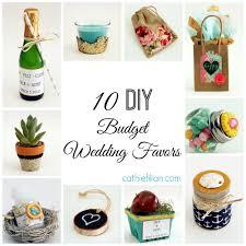 10 diy wedding favors with mod podge