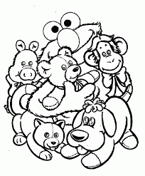 Small Picture Elmo Printable Coloring Pages Coloring Home