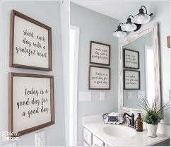 bathroom wall decor pictures. Wonderful Wall 10 Write Or Print Your Favorite Quotes And Display Them In Frames For Bathroom Wall Decor Pictures U