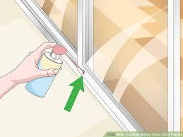 image titled clean sliding glass door tracks step 15