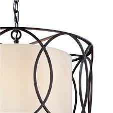 Sausalito Five Light Pendant Troy Lighting Sausalito 5 Light Deep Bronze Pendant