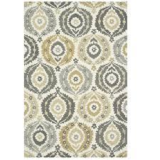 home home decor rugs francesca fc 26 ivory graphite