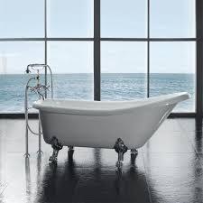 bathroom amusing ultra acrylic slipper clawfoot tub bathroom at claw foot bathtub from claw foot