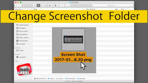 Screen Capture Mac How To Change Screenshots Save Folder Location On Macos Screen Capture Print Screen
