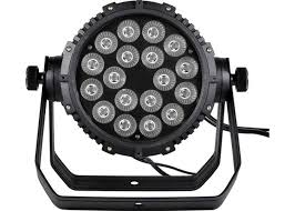 waterproof 18 15w 5 in 1 led par can lights small professional stage lighting
