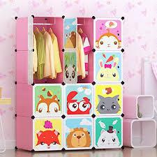 sturdy hanging closet organizer. Unique Closet Tespo Portable Clothes Closet Wardrobe For Children And Kids Cute Cartoon  DIY Modular Storage Organizer Sturdy Intended Hanging N