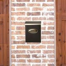 vertical wall mount mailbox. Gibraltar Mailboxes Designer Venetian Bronze Vertical Wall-Mount Locking Large Mailbox-DMVKGV04 At The Wall Mount Mailbox
