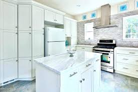 honed marble white eased kitchen kitchens countertop countertops cleaning