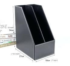 desk file organizer 2 slot wood desk file book stand storage box holder wooden doent tray desk file organizer