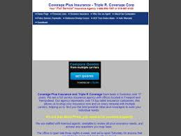 Full Coverage Insurance Quotes Awesome Triple R Coverage Corp Coverage Plus Insurance