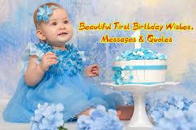 happy first birthday wishes