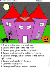 Free Halloween Worksheets   edHelper together with Direction Worksheets   Have Fun Teaching furthermore Following Directions Freebie         Thanksgiving   Pinterest moreover Fall Follow the Directions freebie   Special Education   Pinterest likewise 153 best listening skills following directions images on Pinterest additionally Best 25  Following directions games ideas on Pinterest moreover SchoolExpress     19000  FREE worksheets  create your own as well Halloween Worksheets and Printouts further Halloween Activities  Coloring and Drawing Worksheets together with Math Activity Worksheets together with . on halloween following directions worksheets for kindergarten