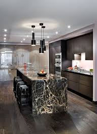 black kitchen cabinets with white marble countertops. Black Kitchen White Marble Island And Countertops Surprising Best Ideas On Cabinets With S