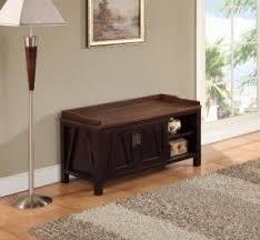 unique entryway furniture. Simpli Home Dorset Collection Entryway Storage Bench, Dark Brown Unique Furniture E