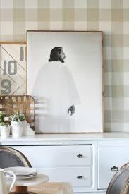 diy framed canvas