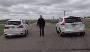 BMW 3 Series xc60 vs bmw x3 : BMW X5 xDrive50i vs Volvo XC60 T6 on the Track - autoevolution