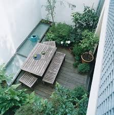 urban backyard small gardens blog post by