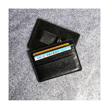pu leather money clip wallet card sleeve card holder 1