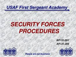 Ppt Usaf First Sergeant Academy Powerpoint Presentation