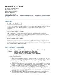 Certified Process Design Engineer Sample Resume Objective Examples On Resumes Resume Example Statement For Retail 34